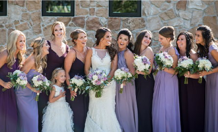 Choose the Bridesmaid Dresses Color Palette for Spring Season Wedding